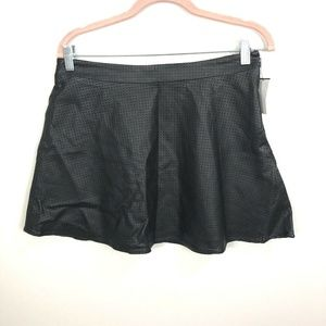 Express Mini Skirt Size 8 Faux Leather